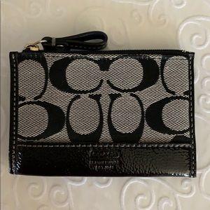 Coach small card/key case